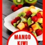 Fruit salad collage