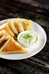 Greek Spinach and Cheese Parcels (Spanakopita)