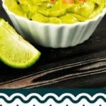 Guacamole recipe collage