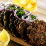 Spicy Indian Chapli Kebabs | ScrambledChefs.com