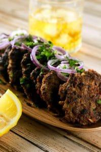 Spicy Indian Chapli Kebabs | ScrambledChefs.com
