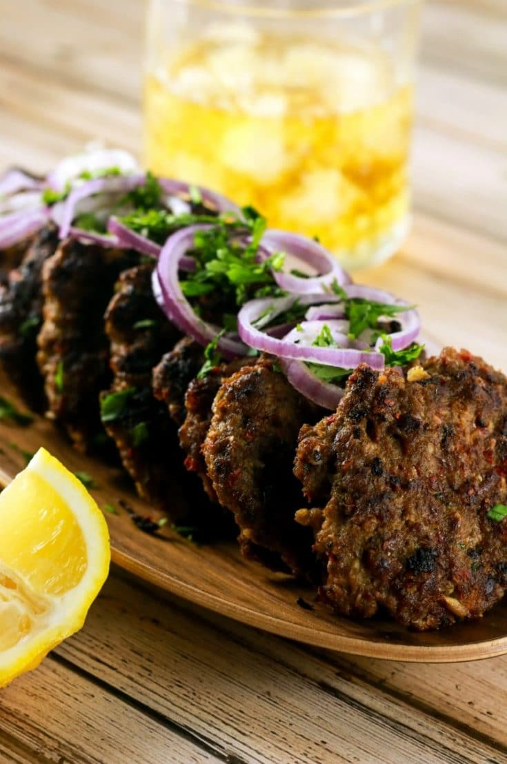 Spicy Indian Chapli Kebabs