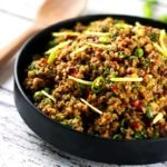 Authentic Indian Minced Meat Qeema | ScrambledChefs.com