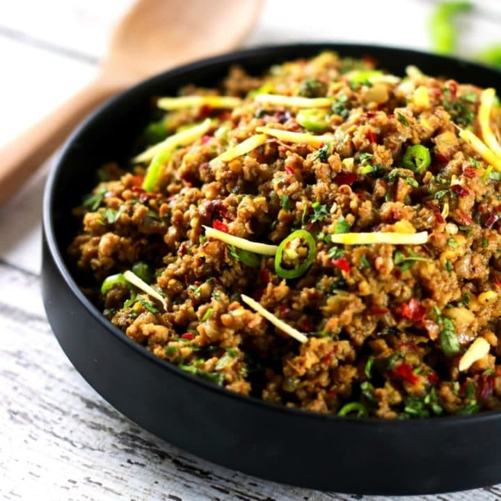 Authentic Indian Minced Meat Qeema Scrambled Chefs