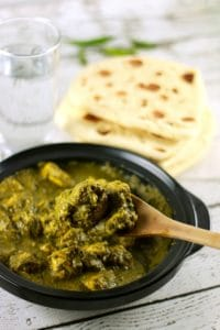 Classic Indian Green Curry