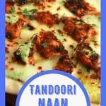 Tandoori naan pizza collage