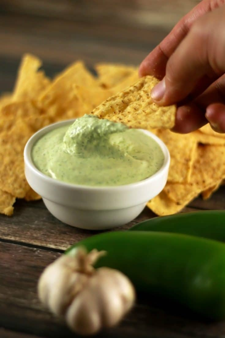 Insanely Delicious Jalapeño Dip
