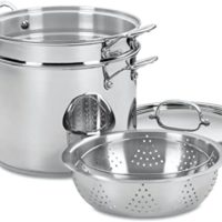 Stainless Steel Pasta Pot with Insert