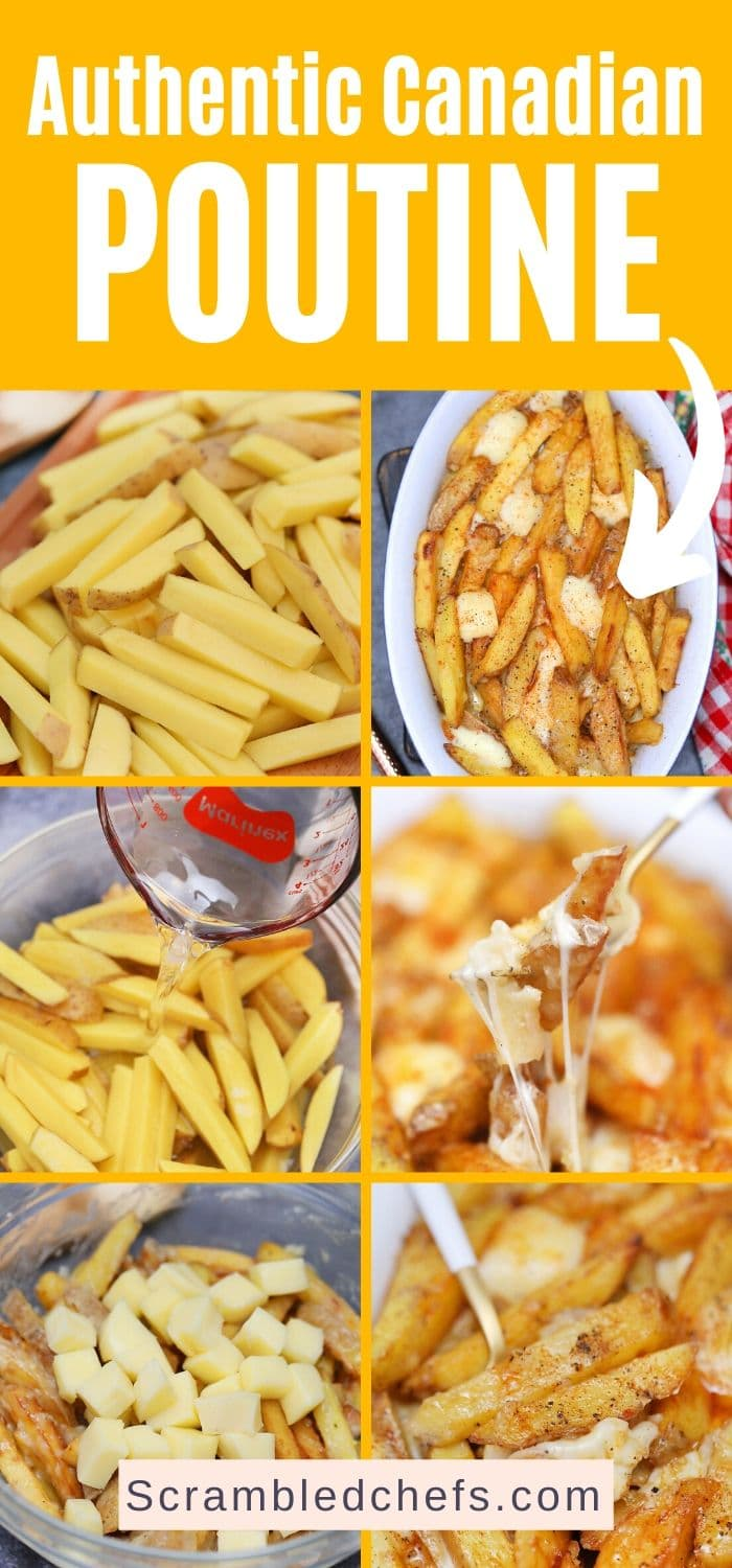 Poutine collage