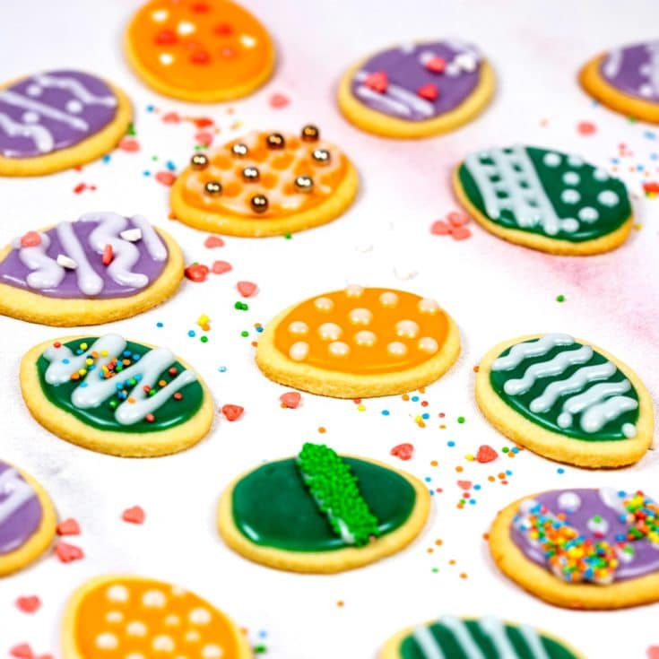 The BEST Easter Egg Cookie Recipe Ever