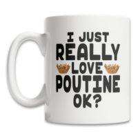 Cute Poutine Mug