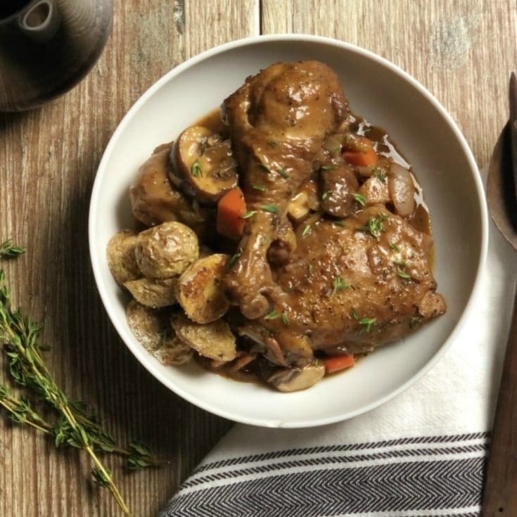 Julia Child's Coq au Vin Chef's Recipe
