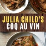 Coq au vin collage