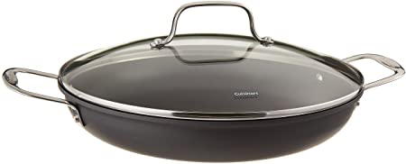 "Cuisinart 12"" Everyday Nonstick Skillet with Lid"