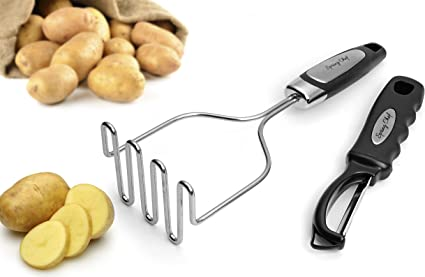 Potato Masher and Vegetable Peeler