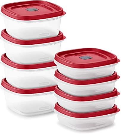 Rubbermaid Easy Find Lid Containers