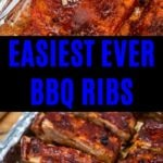 BBQ ribs collage