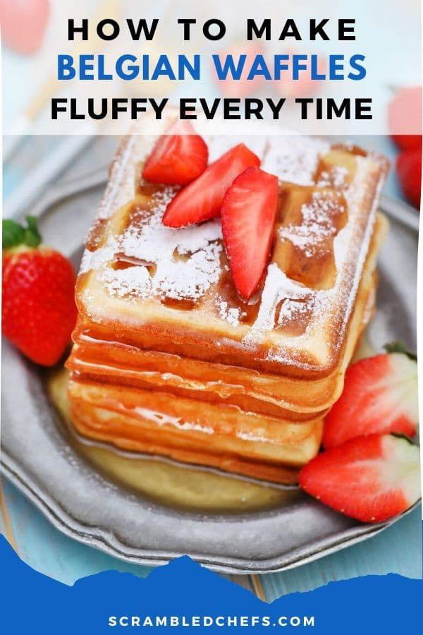 Belgian waffle collage