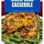 Bowl of green bean casserole