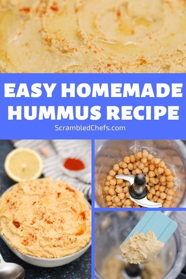 Hummus collage