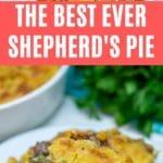 Shepherd's pie collage