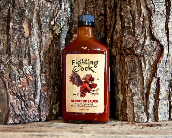 Fighting Cock Kentucky Bourbon BBQ Sauce