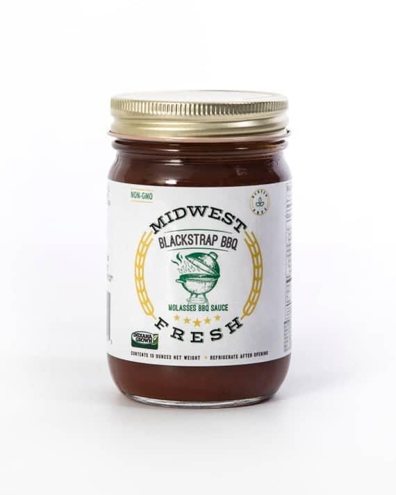Blackstrap BBQ Sauce Midwest Fresh