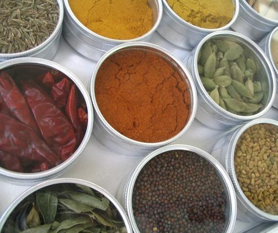 Indian spice kit - set of 15 - recipes included. the flavors of India at home in your kitchen.