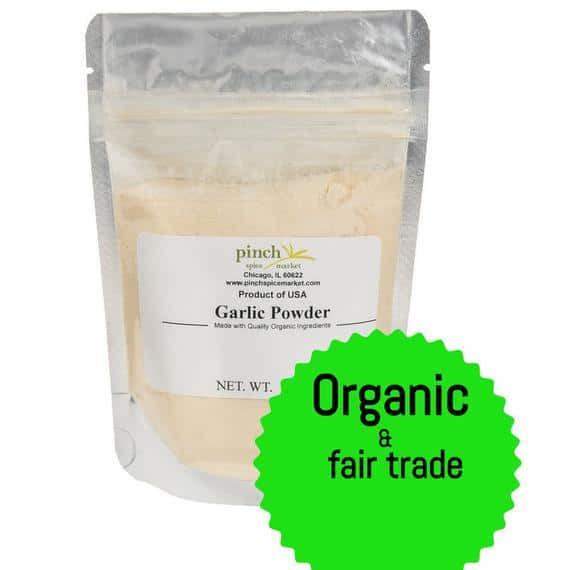 Organic Garlic Powder | Etsy