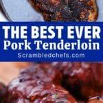 Pork tenderloin collage