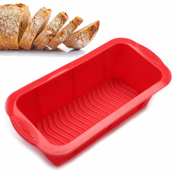 Silicone Bread Mold and Loaf Pan Soap Mold Large Homemade