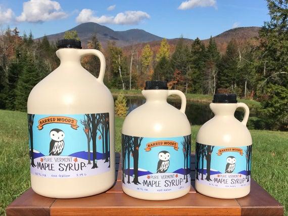 Grade A Vermont Maple Syrup
