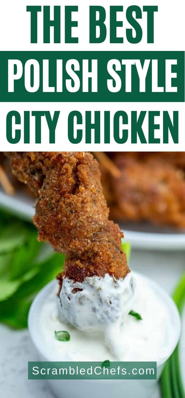City chicken collage