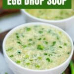 Egg drop soup collage