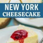New York Cheesecake collage