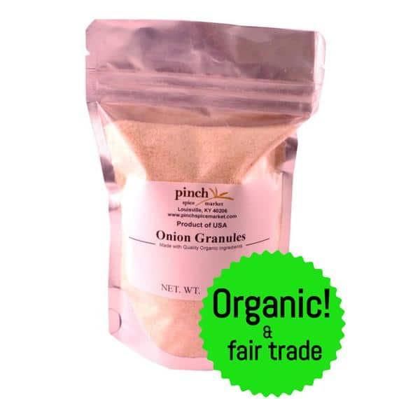 Organic Onion Granules | Etsy