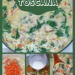 Copycat zuppa toscana soup collage