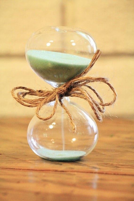 5 Minute Glass Egg Timer | Etsy