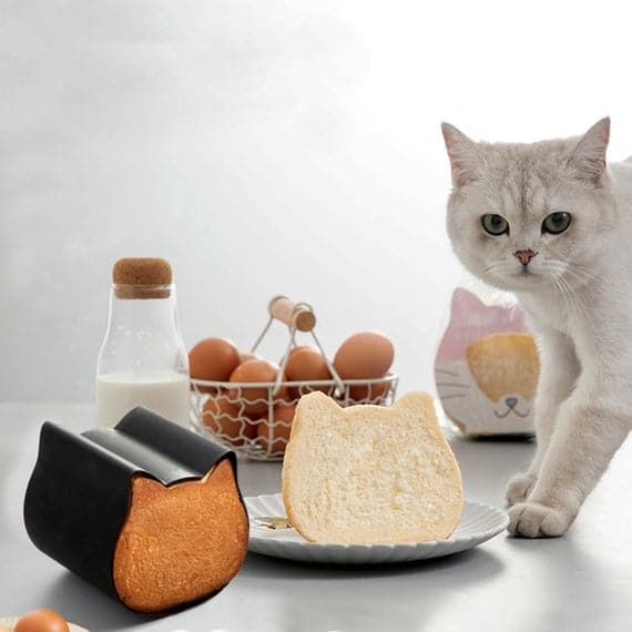 Cat toast moldsBread bake wareNon-Stick Pan   Etsy