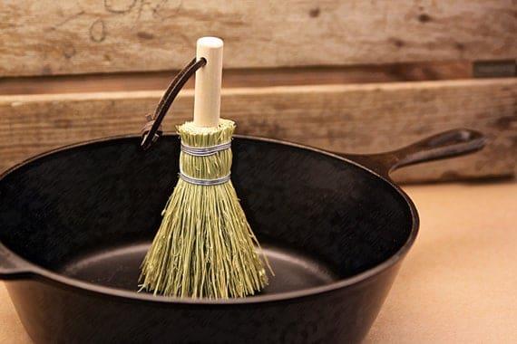 Dutch Oven Pot Scrubber Broom Corn Brush Veggies | Etsy