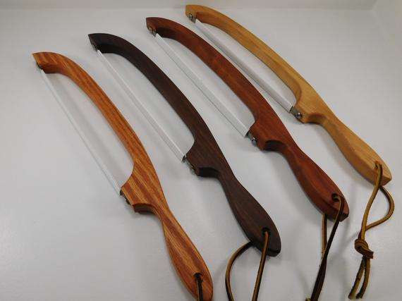 Handmade Bread Knife / Handmade Wooden Bread Knife / Fiddle   Etsy