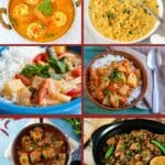 Curry recipes collage