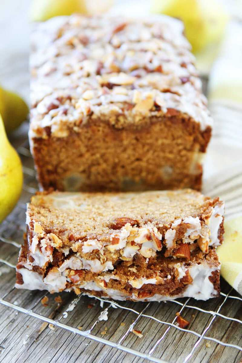Bread with streusel topping