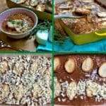French onion soup casserole collage