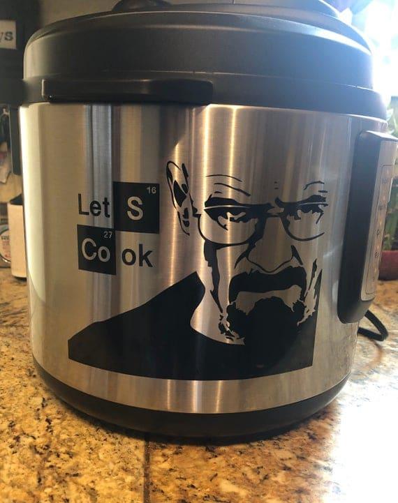 Breaking Bad Inspired Instant Pot/ Crockpot/ Pressure Cooker | Etsy