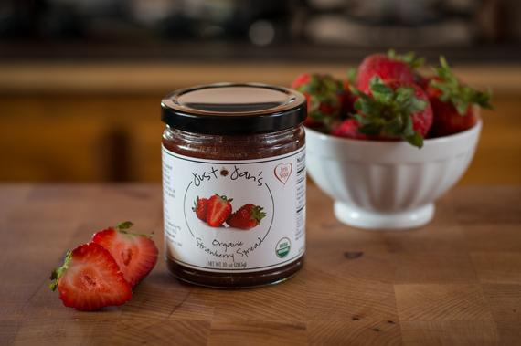 Just Jan's Organic Strawberry Spread | Etsy