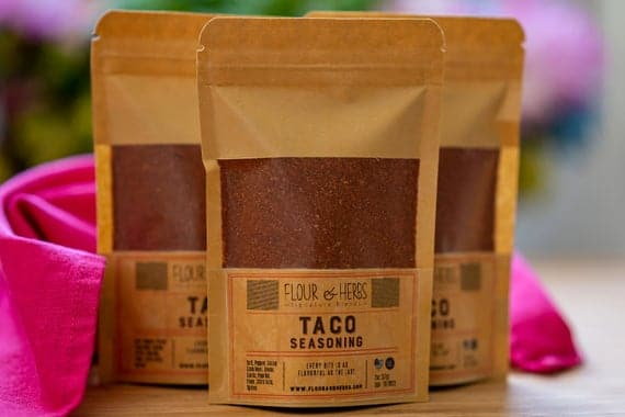 Taco Seasoning Mexican Spice Mix Mexican Herbs Taco | Etsy