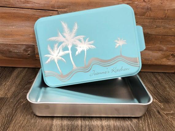 Custom Engraved 9 x 13 Aluminum Cake Pan with | Etsy