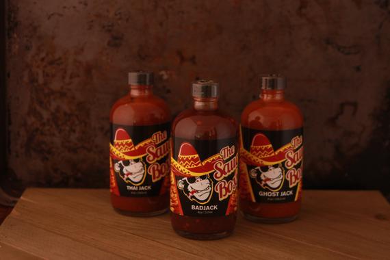 Hot Sauce 3 Pack Sampler Ghost Jack Thai Jack Bad Jack | Etsy