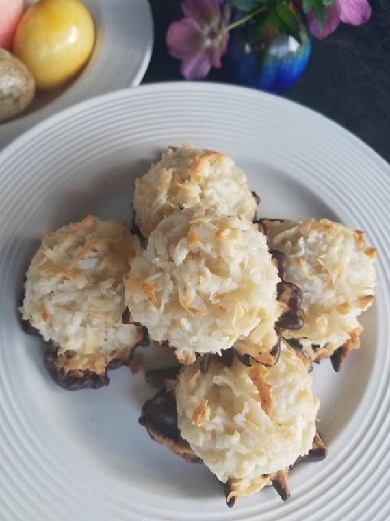 Coconut Macaroons Macaroons Gluten Free Coconut Chew | Etsy